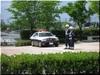 パトロールカーと警官