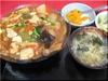 肉丸子とキムチとうふ煮