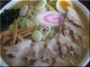 味噌チャーシューメン(会津地鶏スープ仕立て)