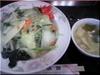 塩味野菜あんかけご飯