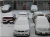 また雪です。