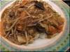 マーボー野菜かけご飯