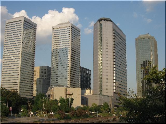 大阪ビジネスパーク・ビル群