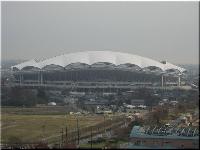初冬のビッグスワン・スタジアム