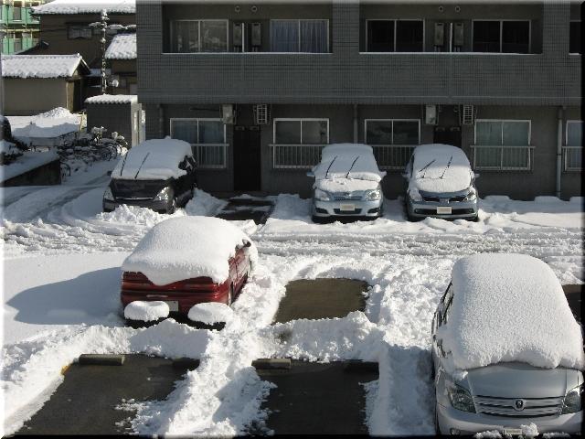 1月13日・大雪