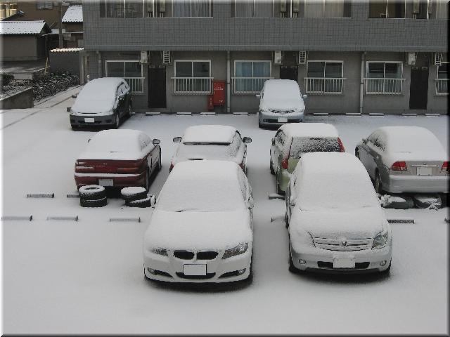3月30日・雪