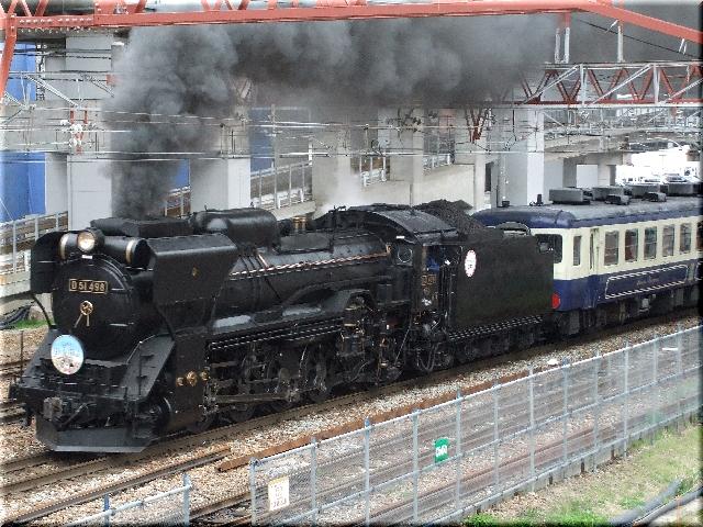SLばんえつ物語号(D51形498番)
