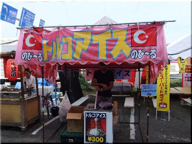 蒲原祭り・露天商
