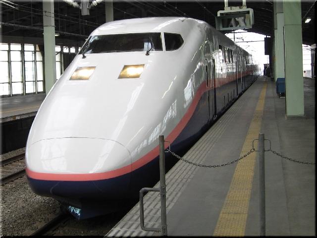 新幹線E1系MAXとき300号⇒新潟駅