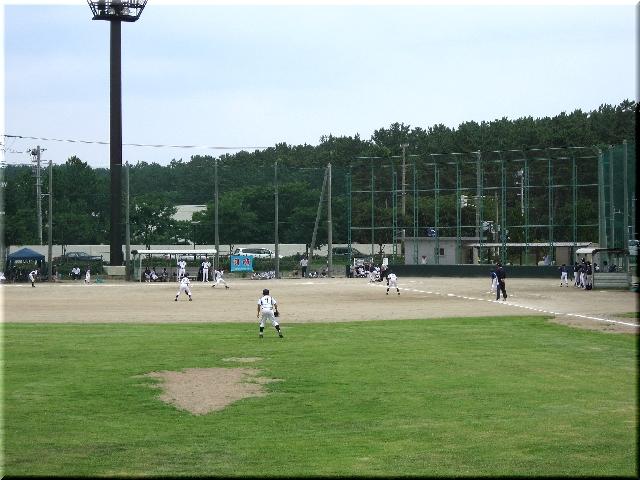 夏と言えば草野球・「闘魂」