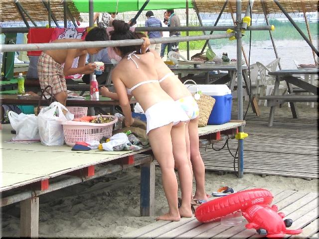 日和山浜海水浴場・浜茶屋
