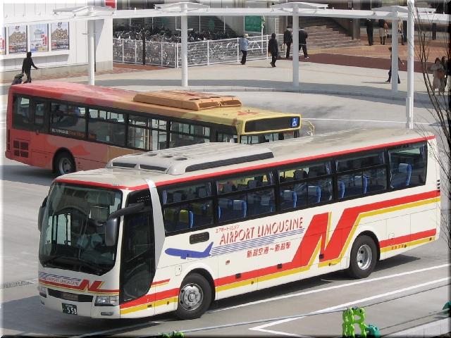 新潟空港リムジンバス