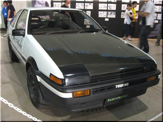 TOYOTA AE86(頭文字 D)