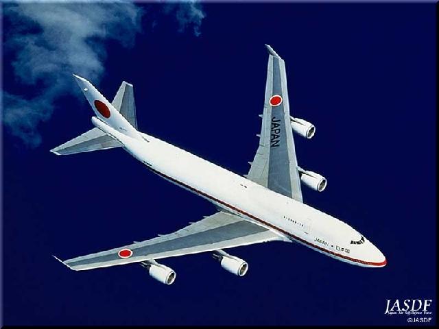 B747-400特別輸送機