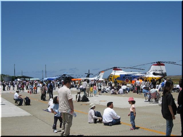 展示風景(U-125A,UH-60J,MU-2S,V-107A)