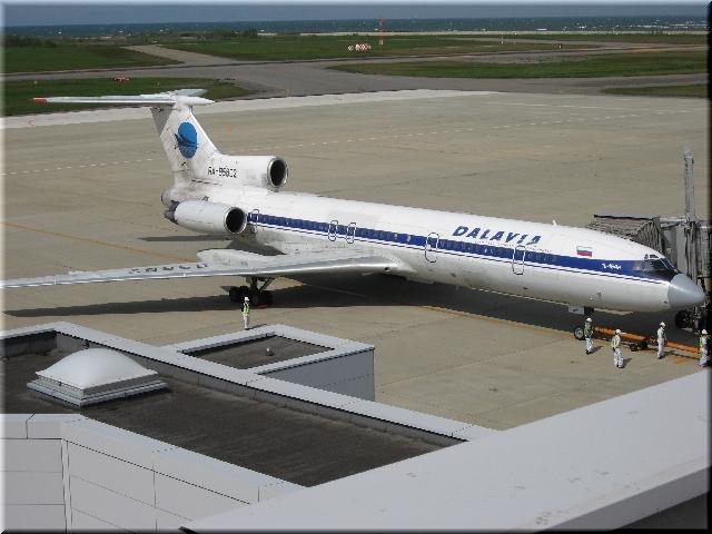 KHB Tupolyeva Tu-154M RA-B5802