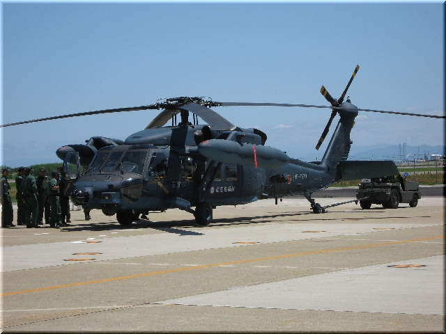 航空自衛隊 UH-60J(Sikorsky Aircraft Corp. Black Hawk) 48-4579