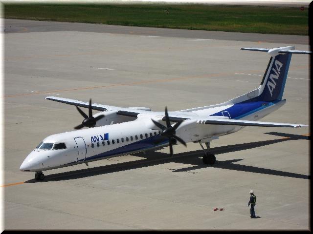 ANA Bombardier Aerospace DHC8‐Q400 JA853A