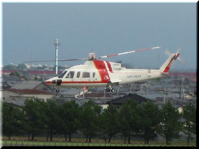 朝日航洋 Sikorsky Aircraft S76