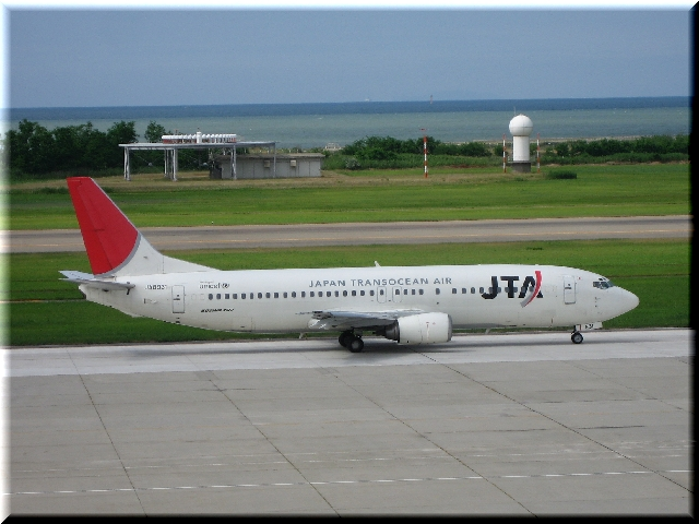 JTA Boeing 737 JA8931