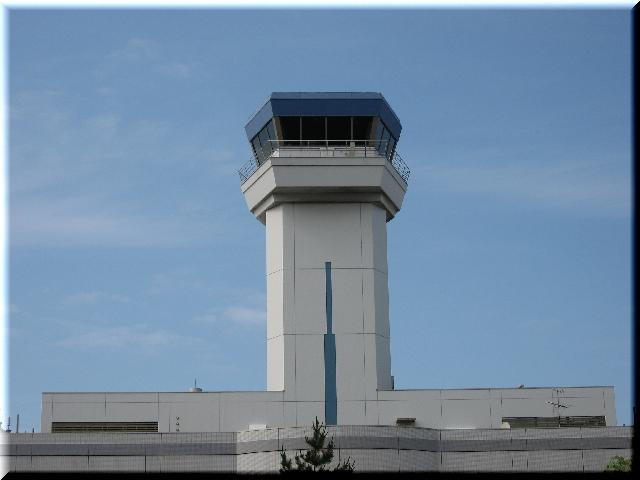 新潟空港・管制塔