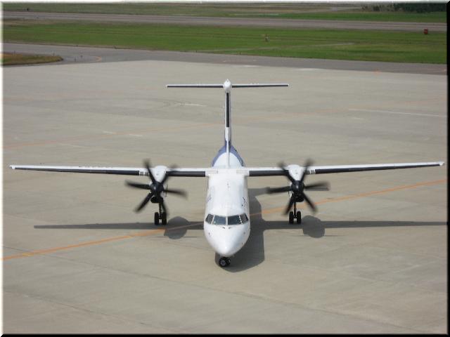 ANA Bombardier Aerospace DHC8‐Q400 JA845A