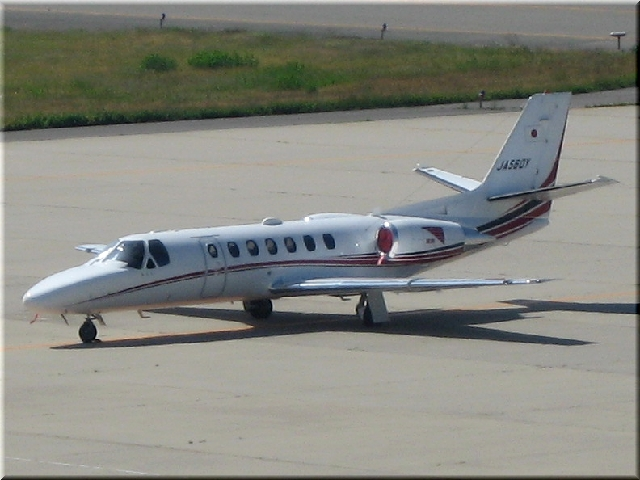 読売新聞 Cessna 560 Citation V JA560Y