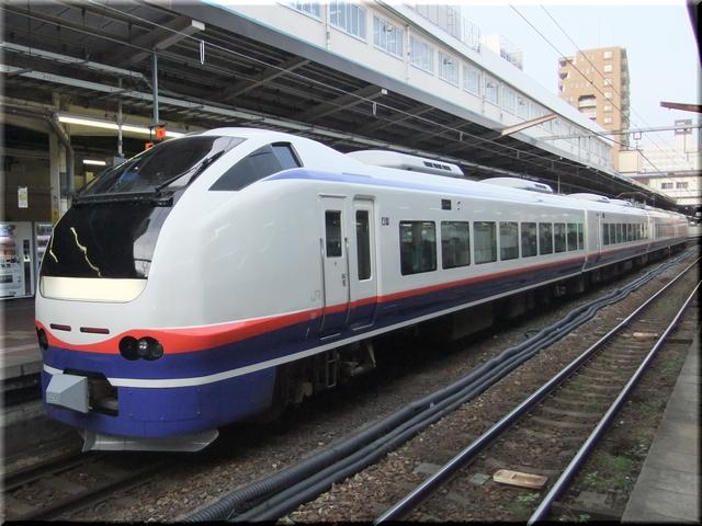 信越本線 E653系特急 しらゆき