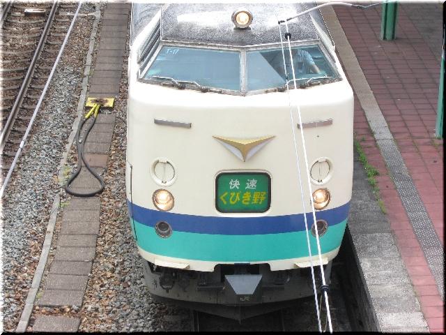 信越本線 481系快速 くびき野