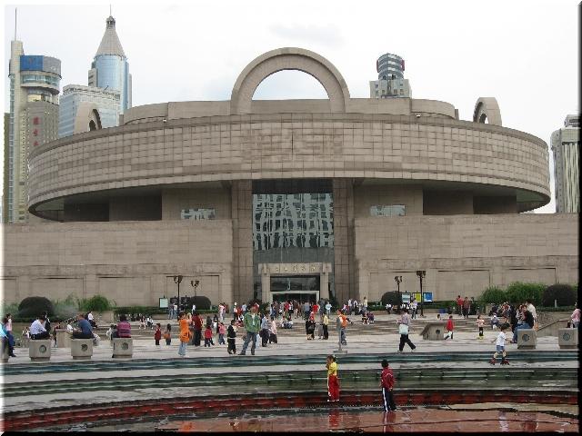 人民広場・上海博物館