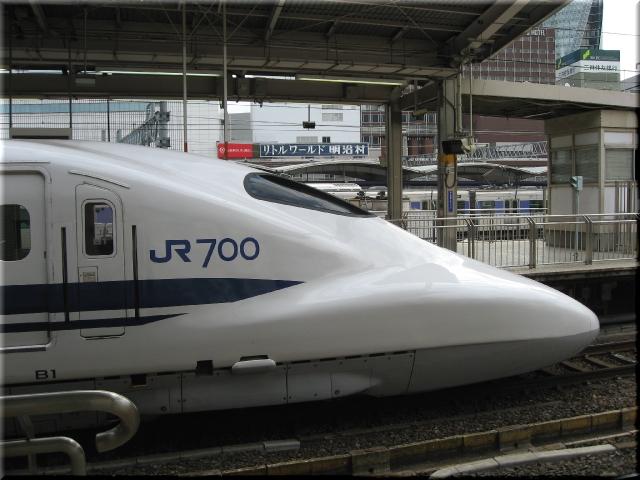 東海道新幹線700系B1(名古屋駅)