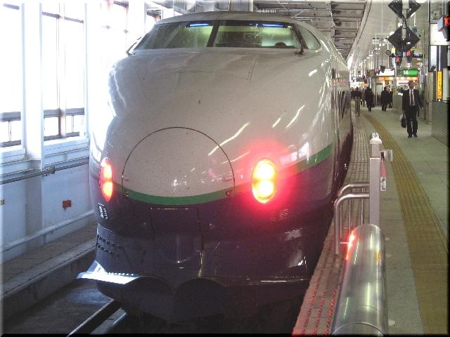 東北新幹線200系K51(仙台駅)