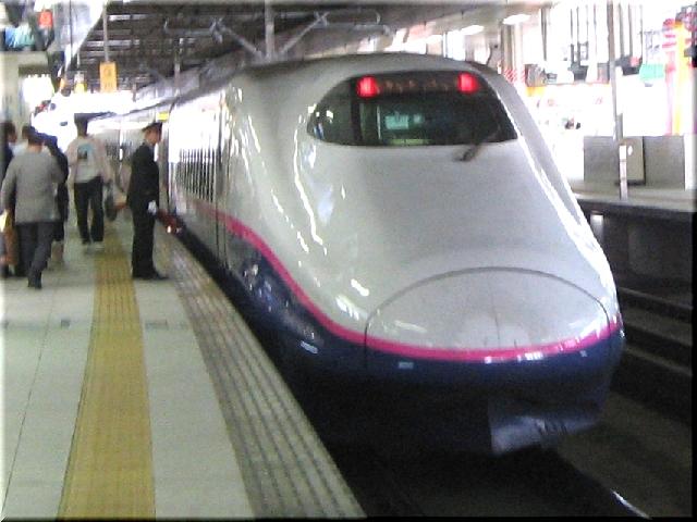 東北新幹線E2系J3(仙台駅)