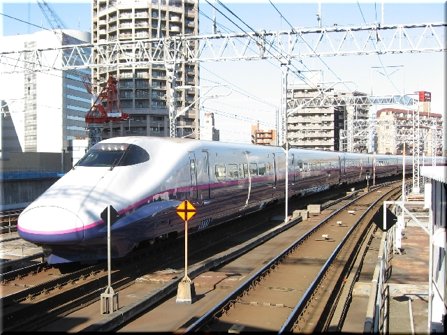 東北新幹線E2系J54(仙台駅)