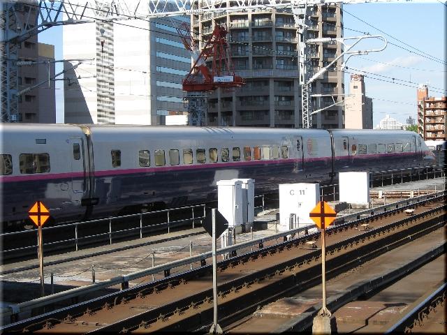 東北新幹線E2系J35(仙台駅)
