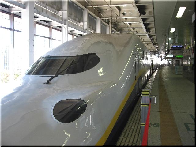 東北新幹線E4系P9(仙台駅)