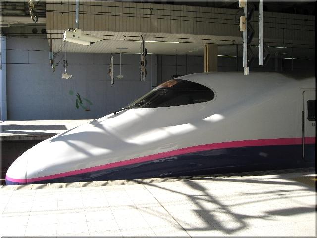 東北新幹線E2系J8(仙台駅)