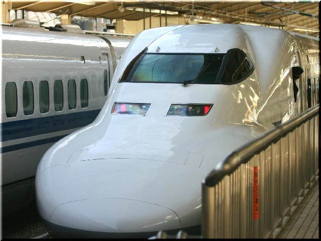 東海道新幹線700系のぞみ号