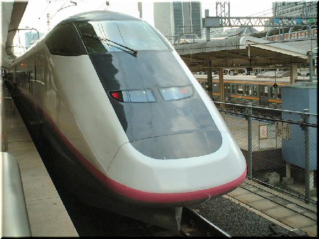 秋田新幹線E3系こまち号